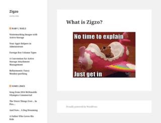 zigzo.com screenshot