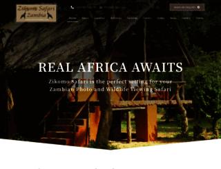 zikomosafari.com screenshot
