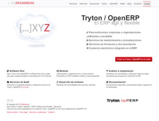 zikzakmedia.com screenshot