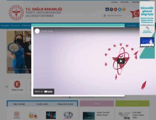 ziledh.saglik.gov.tr screenshot