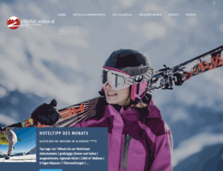 zillertal-online.at screenshot