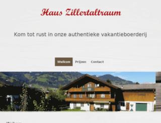 zillertaltraum.com screenshot