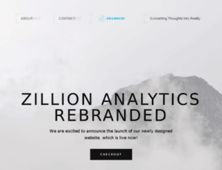 zillionanalytics.com screenshot