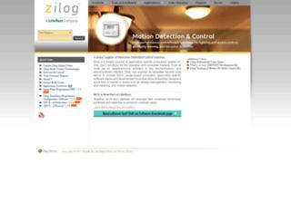 zilog.com screenshot