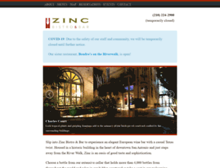 zincwine.com screenshot