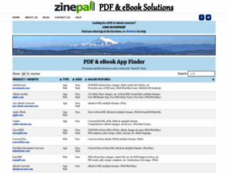 zinepal.com screenshot
