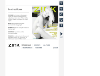 zinkamerica.realviewdigital.com screenshot