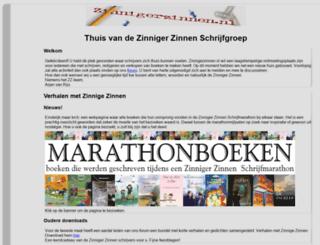 zinnigerzinnen.nl screenshot