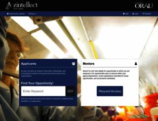 zintellect.com screenshot
