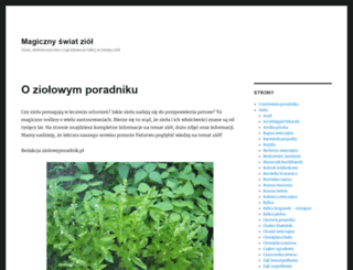 ziolowyporadnik.pl screenshot