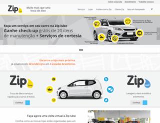ziplube.com.br screenshot