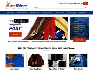 zippershipper.com screenshot
