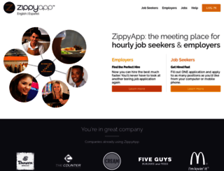 zippyapp.com screenshot