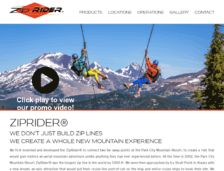 ziprider.com screenshot