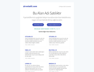 zirvetatil.com screenshot