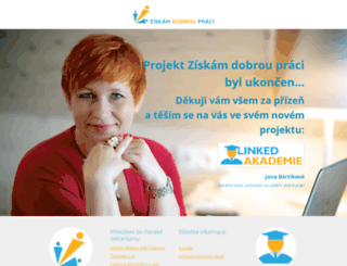 ziskamdobroupraci.cz screenshot