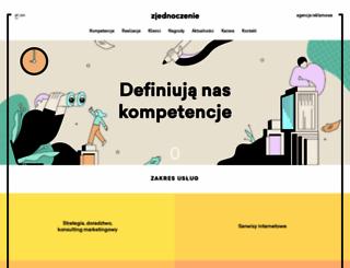 zjednoczenie.com.pl screenshot