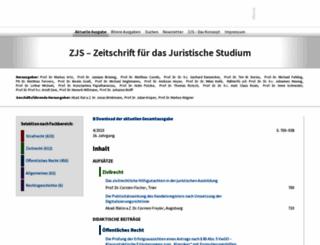 zjs-online.com screenshot