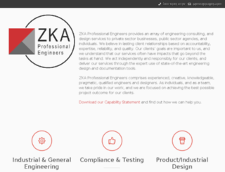 zkaprofeng.com screenshot