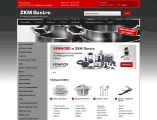 zkmgastro.pl screenshot