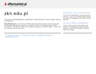 zkn.edu.pl screenshot