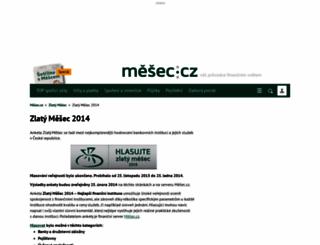 zlaty.mesec.cz screenshot