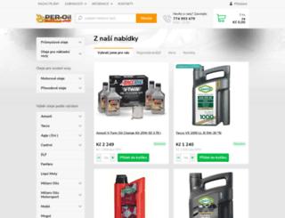 znackoveoleje.cz screenshot