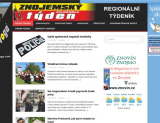 znoj-tyden.cz screenshot