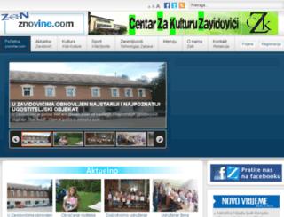 znovine.com screenshot