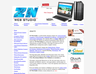 znwebstudio.com screenshot