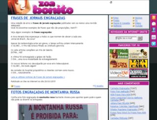 zoabonito.com screenshot