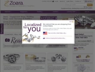 zoara.com.au screenshot
