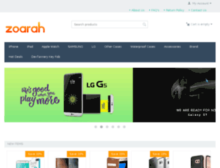 zoarah.com screenshot