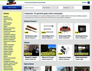 zoekertjesweb.be screenshot