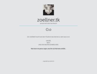 zoellner.tk screenshot