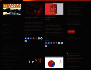 zoha-islands.com screenshot