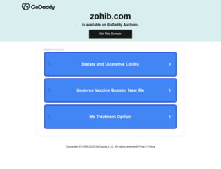zohib.com screenshot