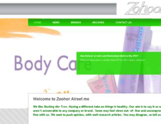 zohooralreef.me screenshot