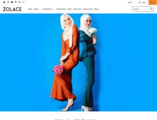 zolace.com screenshot