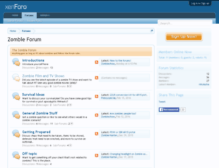 zombie-forum.com screenshot