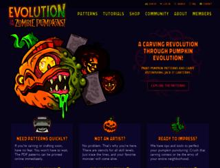zombiepumpkins.com screenshot