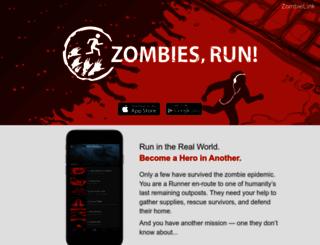 zombiesrungame.com screenshot