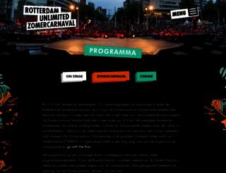 zomercarnaval.com screenshot