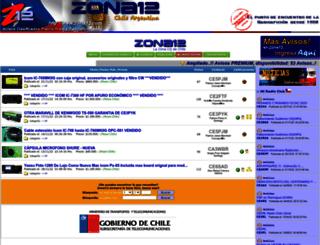 zona12.cl screenshot