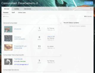 zonagamers.cl screenshot