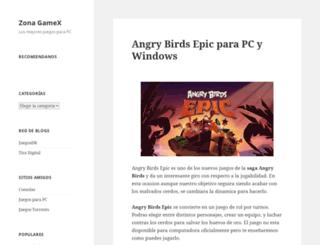 zonagamex.net screenshot