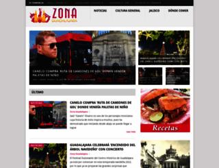 zonaguadalajara.com screenshot