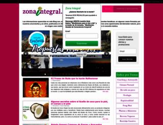 zonaintegral.com screenshot