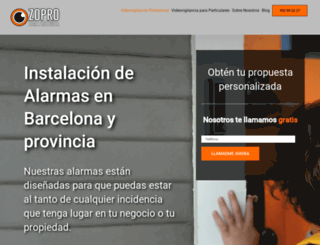 zonaprotegida.es screenshot