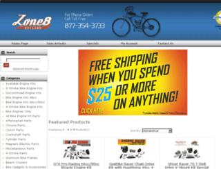 zone8cycling.com screenshot